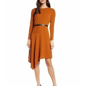 Sam Edelman Asymmetrical Knit Dress